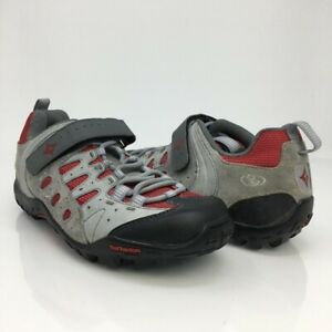 Specialized Body Geometry Womens Plush Tahoe Cycling Shoes Gray 6121 7.5 M