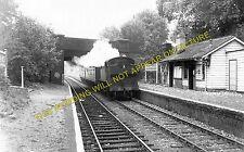 Charlton Kings Railway Station Photo. Cheltenham - Andoversford. GWR. (2)