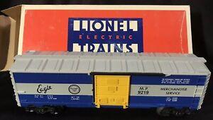 """Lionel Trains #6-9219 Missouri Pacific """"Eagle"""" Animated Boxcar ~ IN ORIGINAL BOX"""