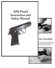 APK Pistol Instruction and Safety Manual