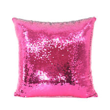 Sublimation Blank Reversible Mermaid Pillowcase Sequin Cover Glitter DIY Rosy