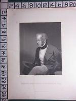 C1830 Antiguo Estampado ~ Viscount Palmerston