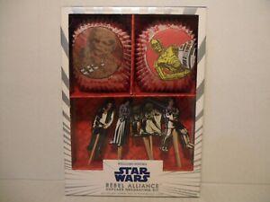 Williams-Sonoma STAR WARS Rebel Alliance Cupcake Decorating Kit