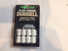 Korda Slow Sinking Dumbell: Banoffee Flavour
