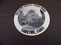 Vintage Gillette Castle State Park Pinback Button