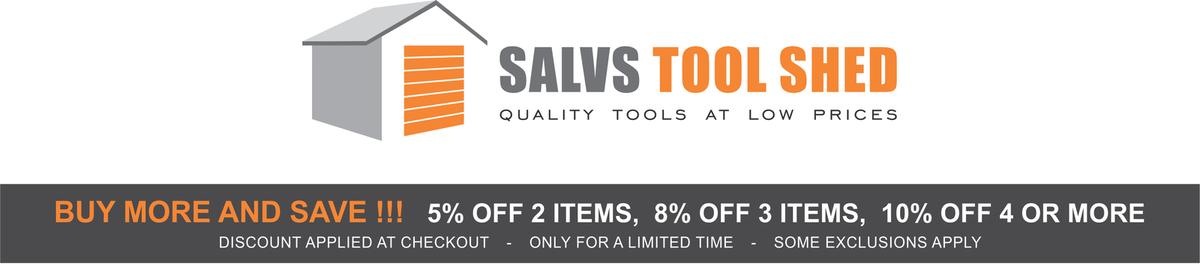 SALVS TOOL SHED