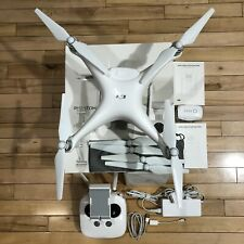 DJI Phantom 4 Advanced 4K Drone With Controller, Extra Battery and Charger!