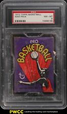 1972 Topps Basketball Wax Pack PSA 8 NM-MT