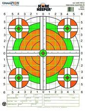 Champion Score Keeper Paper Target Fluorescent /Orange Green Bull 100/Pack 45731
