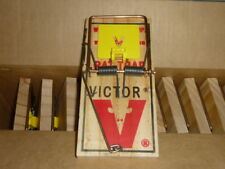 Lot of 12 Victor M326 Heavy Duty Rat / Mouse / Rodent Quick Snap Spring Traps
