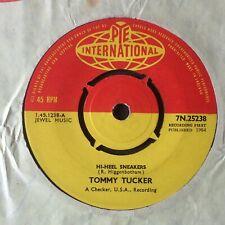 "TOMMY TUCKER: ""HI-HEEL SNEAKERS"" on UK PYE INTERNATIONAL 25238"