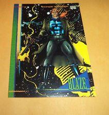 Blaze # 103 - 1993 Marvel Universe Series 4 Base Trading Card