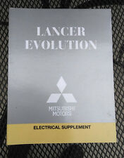 2014 MITSUBISHI LANCER EVOLUTION ELECTRICAL TROUBLESHOOTING SUPPLEMENT MANUAL