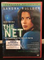 The Net DVD Sandra Bullock RENT Nuovo Sigillato
