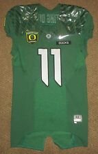 2012 Oregon Ducks Spring Nike Authentic Game Jersey #11 Size 42 RARE TROOPS USA