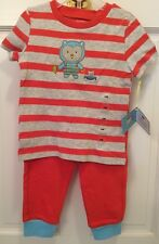 SOFT, CUDDLY, & ADORABLE 2-PC BABY/TODDLER 'HAPPI' OUTFIT 3 SIZES AVAIL MSRP:$24