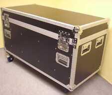 Universal Transport Tour Case mit Rollen 120 cm schwarz Kabel Tool Truhen Box