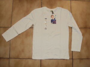 T-shirt blanc ML 10 ans neuf