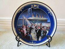 Bradford Exchange ~ The Final Farewell ~ # 10744 A ~ Titanic Porcelain Plate