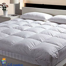 """4"""" Inch Deep Luxury Hotel Quality Microfiber Soft Mattress Topper Double Toppers"""