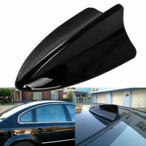 Auto Car Antenna Shark Fin Style Decoration Antena Aerials Gloss Black ABS Cover
