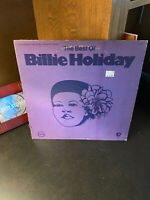 BILLIE HOLIDAY: The Best of Billie Holiday. Vinyl LP 1972 VERVE