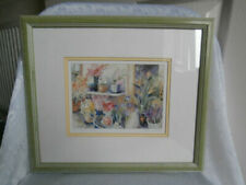 Watercolour Signed Floral Art Paintings