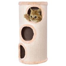 "3-story Cat Tower Kitten Cat Tree Condo Scratch Beige 14"" x 27.5"""