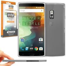 OnePlus 2 Two FlexiSlim Super Slim & Thin Case Cover by Orzly - Smoke White