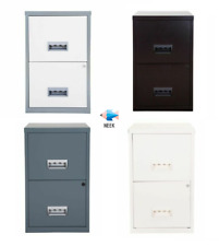 More details for 2 drawer a4 pierre henry maxi filing cabinet - various colours & free post!