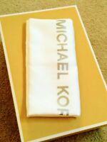 """Large Michael Kors Drawstring Dust Bag Satin White 21.5""""x 21.5"""" For MK Handbag"""