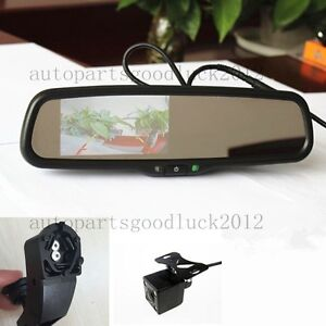 "Normal car rearview mirror+4.3""reversing display+camera,fit BMW 3,5,7,x1,x5,x6"