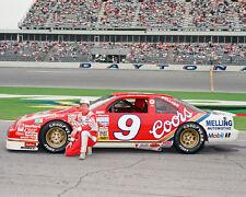 1990 Daytona Nascar Racing BILL ELLIOTT Glossy 8x10 Photo Winston Cup Poster