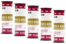 Pellicola medio formato Rullino Colore Fuji/Fujifilm PRO400H 400 120 5pz.