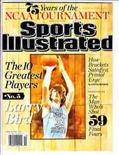 March 6, 2013 Larry Bird Indiana State Sports Illustrated NO LABEL A