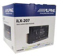 "Alpine iLX-207, 7"" 2Din Digital Media Car Stereo CarPlay/ Android Auto- Free Cam"