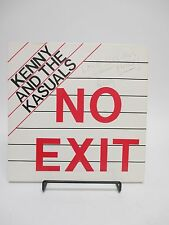 """SIGNED """"No Exit"""" Kenny And The Kasuals LP AUTOGRAPHED by Kenny! 1984 Power Rock"""