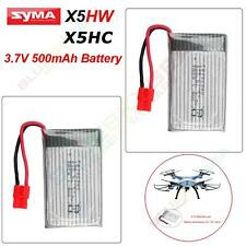Original SYMA X5HW X5HC Wifi FPV Dron RC Cuadricóptero 3.7v 500mah Lipo batería