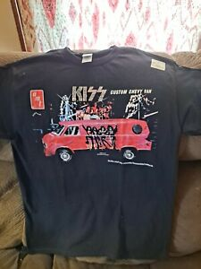 KISS 1977 AMT Custom Chevy Van Model Kit Inspired Shirt