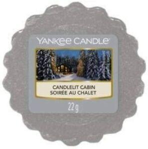 Yankee Candle Wax Melt Wax Tarts Candlelit Cabin x 24 NEW