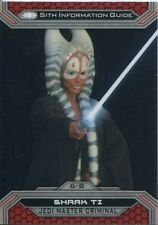 Star Wars Chrome Perspectives II Refractor Parallel Base Card 6-S Shaak Ti