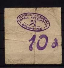 [16639]  - Notgeld ROTHENBACH OS (heute: Gorce), Steinkohlen-Bergwerk Consol. Ab