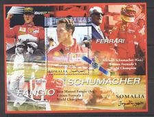 Somalia 2002 CARS/RACING/Ferrari/Schumacher (cs) m/s ref:s2902