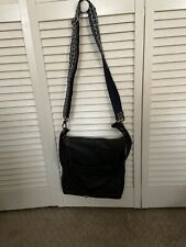 The Sak Iris Pebbled Leather Crossbody Bag Black