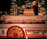 Snow Village Department 56 HIGH ROLLERS RIVERBOAT CASINO! 55330 NeW! FabULoUs!