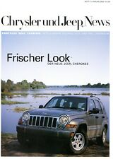 Chrysler Jeep Dodge News Heft 2 Januar 2005 Cherokee Crossfire SRT-6 Viper 300 C