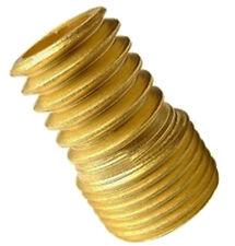 "Brass Wood Nipple for Bulb holders, 1/2"" Thread, Ideal Wood Turning (504)"