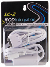 IC-2 iPOD/iPHONE CONNECTION CABLE FARENHEIT POWER ACOUSTIK SOUNDSTREAM HEADUNITS