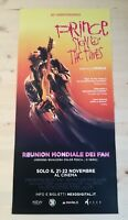 """PRINCE SIGN O THE TIME Original Concert Music Movie Poster 12x27"""""""