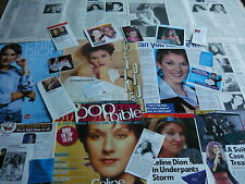 CELINE DION - MAGAZINE CUTTINGS COLLECTION (REF SA)